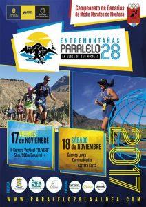 El campeontao de Canarias de Medio Maraton de montaña se corre AQUI